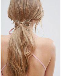 ASOS - Bow Hair Stick - Lyst