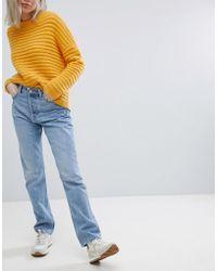 Weekday - Line Vintage Look Straight Leg Jean - Lyst