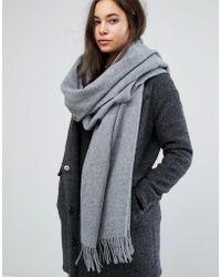 Weekday - Wool Scarf - Lyst