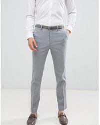New Look Smart Slim Trousers - Grey