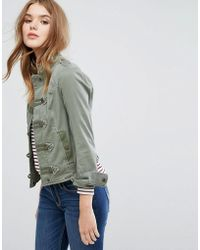 Hollister - Military Band Jacket - Lyst