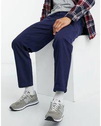 Native Youth Pantalones azul marino