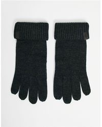AllSaints All Saints Merino Gloves - Black