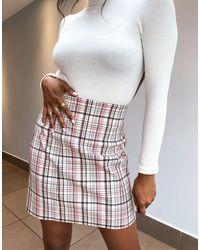 TOPSHOP Mini Skirt - Multicolour