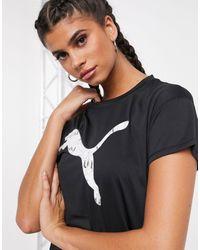 PUMA - – Last Lap – T-Shirt mit Logo - Lyst