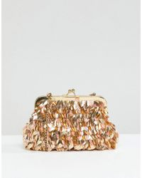 Park Lane - Handmade Pouch Clutch Bag - Lyst