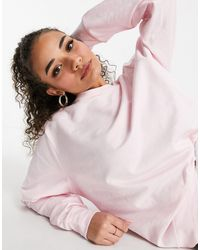 ASOS Sudadera confort rosa Mix & Match