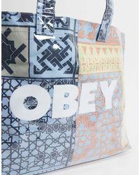 Obey Borsa shopping - Grigio