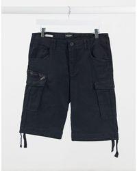 Jack & Jones Intelligence Cargo Shorts - Black