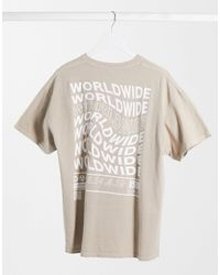 New Look Unknown Overdyed T-shirt - Multicolor
