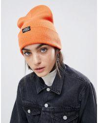 Cheap Monday Beanie In Orange
