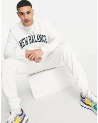 New Balance Collegiate Sweatshirt - White