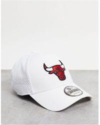 "KTZ Белая Кепка С Логотипом Команды ""chicago Bulls"" 9forty-белый"
