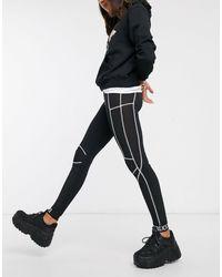 Fiorucci Renee leggings-Black