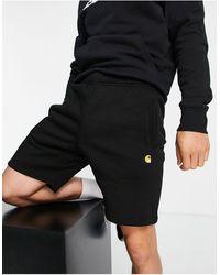 Carhartt WIP Chase Sweat Shorts - Black