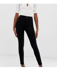 New Look Disco Skinny Jeans - Black