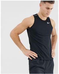 Nike Черная Майка - Черный