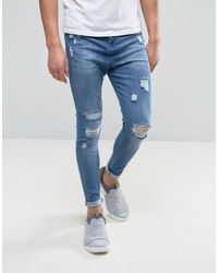 Good For Nothing Super Skinny Jeans - Blue