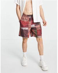 Mennace Shorts Co-ord - Multicolour