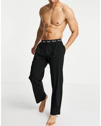 French Connection FCUK - Pantalon en jersey - Noir