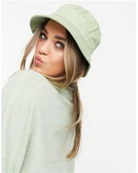 Monki Emmi - Katoenen Bucket Hat - Groen