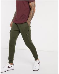 Polo Ralph Lauren Джоггеры Карго Оливково-зеленого Цвета С Манжетами И Логотипом -зеленый