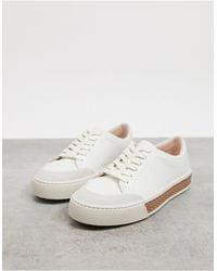 Fiorelli – Finley – Ledersneaker zum Schnüren - Weiß