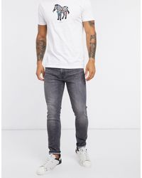 Levi's 519 Hi-Ball - Jeans super skinny nero slavato