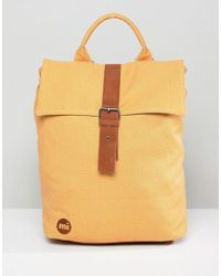 Mi-Pac - Canvas Day Pack In Camel - Lyst