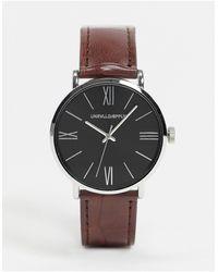 ASOS Watch - Brown