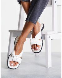 Miss Selfridge Echo Sandal - White