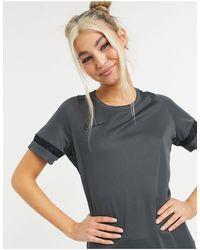 Nike Football Camiseta negra academy dry - Negro