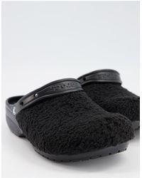 Crocs™ Originals Furry Clogs - Black