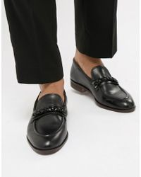 7d93aea47c9 Lyst - House Of Hounds Brewster Penny Loafers in Black for Men