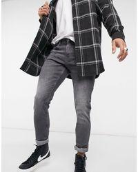 Tom Tailor Culver - Jeans skinny lavaggio grigio