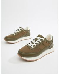 Pull&Bear - Trainer In Green - Lyst