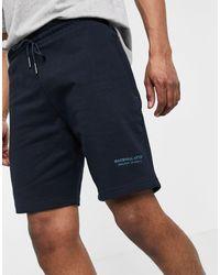 Marshall Artist – jersey-shorts - Blau