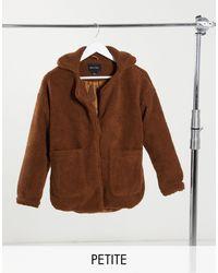 Brave Soul Куртка Из Искусственного Меха -коричневый
