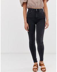 Pieces Skinny Jeans - Zwart