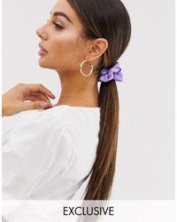 Missguided Эксклюзивная Фиолетовая Резинка Для Волос -фиолетовый Цвет - Пурпурный