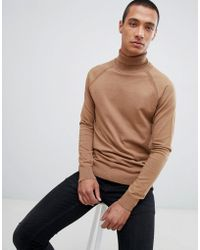 Threadbare - Roll Neck Cotton Jumper - Lyst