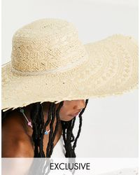 South Beach - Frayed Edge Hat - Lyst