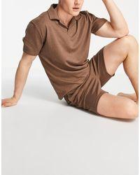 ASOS Pijama marrón