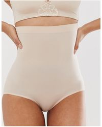 Spanx Higher Power Knickers - Natural