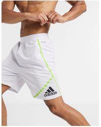 adidas Originals Белые Шорты Adidas Training-белый