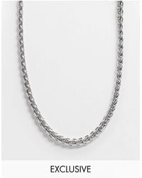 Reclaimed (vintage) Inspired Chain Necklace - Multicolor