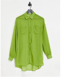 Public Desire Beach Shirt - Green
