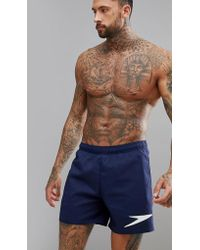Speedo Solid Watershort - Short de bain sportif 16 pouces - Bleu