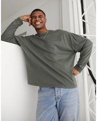 ASOS Long Sleeve T-shirt - Grey