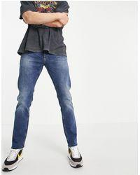 New Look Jeans slim lavaggio blu